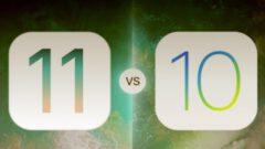 iOS 10.3.2 ile iOS 11 Karşılaştırmalı Hız Testinde