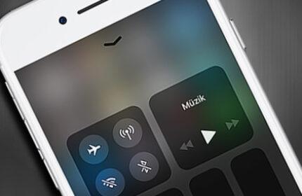 iOS 11′ de Denetim Merkezi (Control Center) Nasıl Kişiselleştirilir?