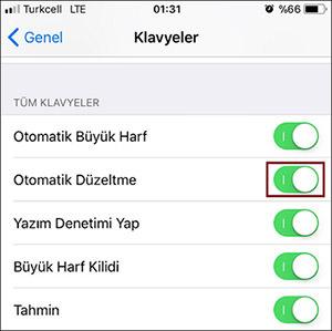 iOS-11-Otomatik-Kelime-Duzeltme-1