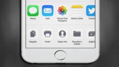 iOS 11′ de Paylaşım Menüsünde Yer Alan Semboller Nasıl Düzenlenir?