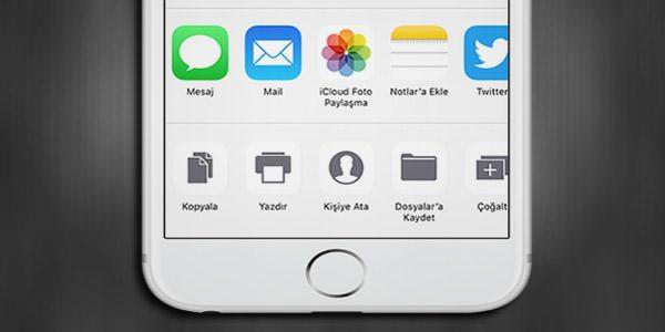 iOS-11-Paylasım-Menu-Sembolleri