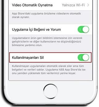 iOS-11-Uygulama-Otomatik-Kaldirma-2