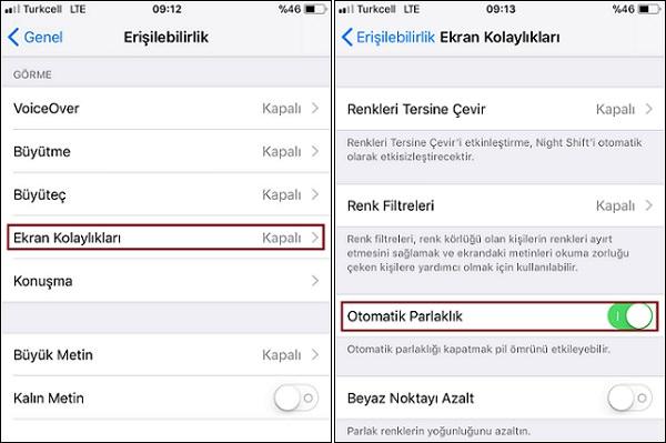 iOS-11-otomatik-parlaklık-ayarı-nasıl-yapılır-1