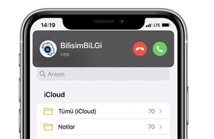 iOS 14′ te Gelen Çağrıları Tam Ekran Olarak Etkinleştirme