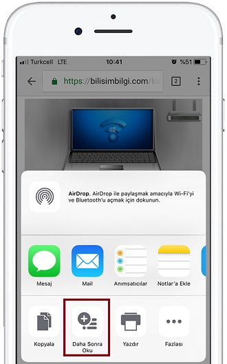 iOS-Chrome-Okuma-Listesi-2