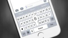 iOS' ta Klavye Karakter Önizlemesini Devre Dışı Bırakma