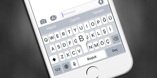 iOS-Klavye-Karakter-Onizleme