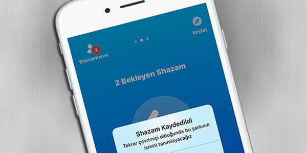 iOS-Shazam-Cevrimdışı-Mod