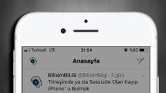iOS' ta Favori Tweet' leri Yer İşaretlerine Ekleme