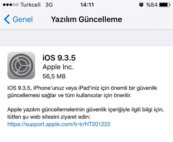 iOS-guncellemeleri