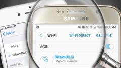 iPhone ve Android' te Cihazın IP Adresini Bulma