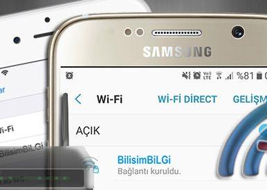 iPhone-Android-WiFi-Baglanti-Sorunu-Cozumu