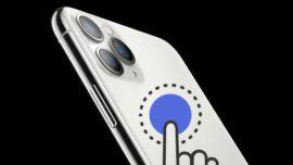 iPhone Arka Kapağındaki Dokunmatik Özellik