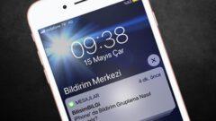 iPhone' da Bildirim Gruplama Nasıl Kullanılır?