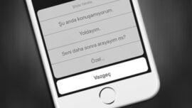 iPhone' da Cevaplanamayan Çağrılara Mesaj ile Dönüş Sağlayın