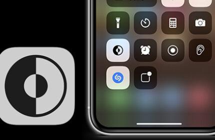 iPhone Denetim Merkezi' ne Koyu Mod Butonu Ekleme