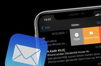 iPhone' da E-Postaları Toplu Bir Şekilde Silme Yöntemi