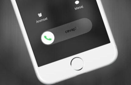 iPhone' da Gelen Çağrıyı Hoparlöre Yönlendirme