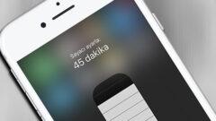 iPhone Cihazlarda Geri Sayım Sayacı Nasıl Ayarlanır?