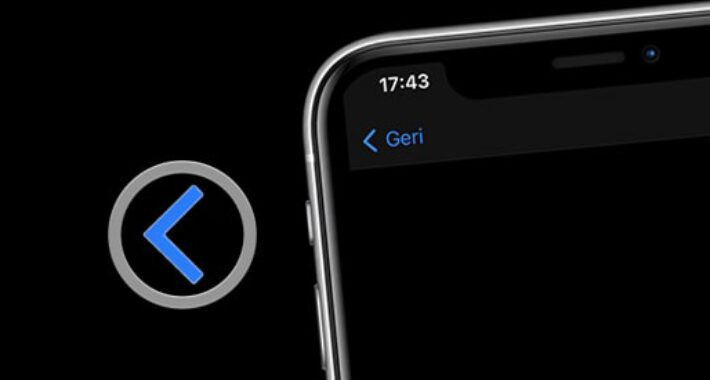 iPhone' da Geri Seçimi ile İstediğin Yere Atlama