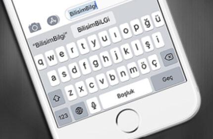 iPhone Klavyesinde Otomatik Düzeltmeleri Devre Dışı Bırakma