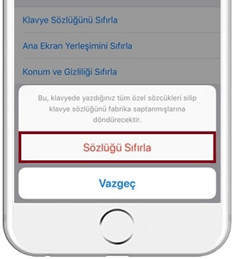 iPhone-Klavye-Sozlugu-Sifirlama-2