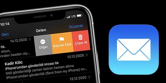 iPhone-Mail-E-posta-Silmek-icin-Kaydir