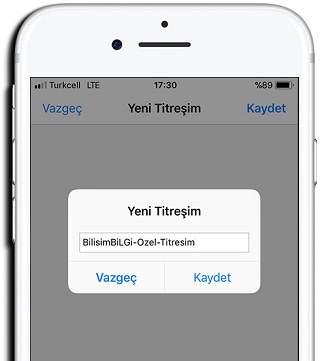 iPhone-Ozel-Titresim-2
