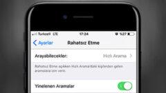 iPhone' da Rahatsız Etme Modunda Yinelenen Aramalar Ne İşe Yaramakta?