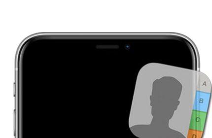 iPhone Rehberindeki Kişileri Sıralama