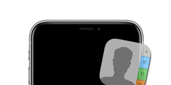 iPhone-Rehber-Siralama