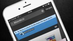 iPhone Safari' de Favicon' u Etkinleştirme