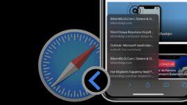 iPhone Safari' de Önceki Sayfalara Dönmenin Pratik Yolu