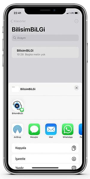 iPhone-Sayfayi-Paylas-1