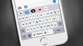 iPhone' da Klavye Türkçe Olsun Ancak Tuşların Boyutu Küçülmesin!