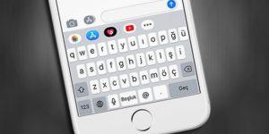 iPhone-Turkce QWERTY-Klavye