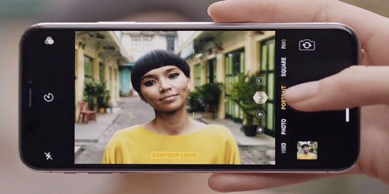 iPhone-X-Portre-Aydinlatma-Modu