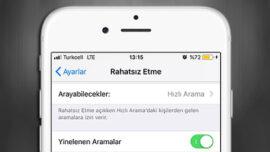 iPhone Rahatsız Etme Modunda Yinelenen Aramalar Özelliği Nedir?