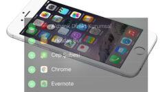 iPhone Bildirim Ekranını Kişiselleştirme