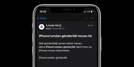 iPhone-umdan-gonderildi-yazisini-degistirme