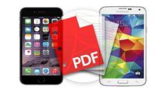 iPhone ve Android' de  Web Siteleri PDF Olarak Nasıl Kayıt Edilir?