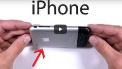 iPhone' un İlk Cihazına Sağlamlık Testi Yapıldı