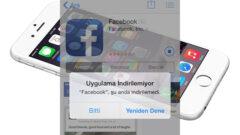 iPhone Uygulama İndirilemiyor Hatasının Çözümü