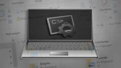 Windows 10' da Klasör İçerisinden Komut İstemine Ulaşabilmenin Kısayolu