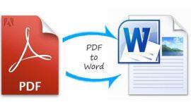 PDF dökümanı Word dökümana dönüştürme [Free]