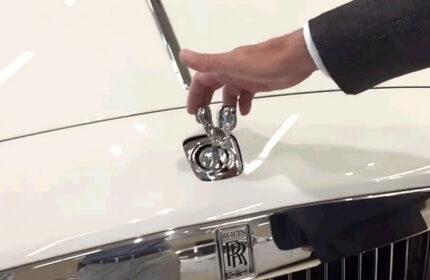 Rolls Royce' un Araba Ambleminin Çalınmaması İçin Geliştirdiği Yöntem