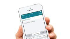 SwiftKey Note iOS'e Geldi