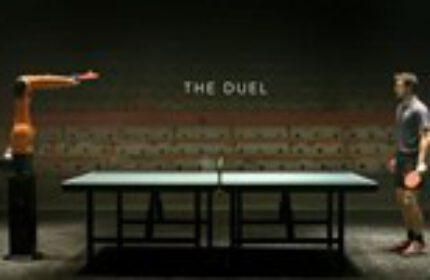 Dünyanın En Hızlı Robotu ile Masa Tenisi Dünya Şampiyonu Timo Boll' un Düellosu