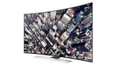 Samsung' un Televizyonu Kavisli UHD Teknolojisi Satışa Sunuldu