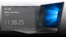 Windows 10′ da Ek Saat Nasıl Gösterilir?